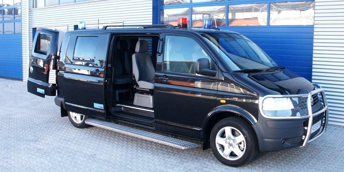 Here's What a Bodyguard Vehicle Looks like Inside