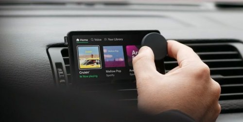 "Spotify lanza un reproductor inteligente para coche... ""viejo"""