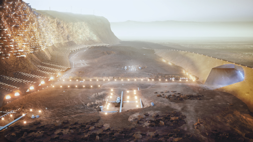 See the Astonishing Plans for the Very First City on Mars