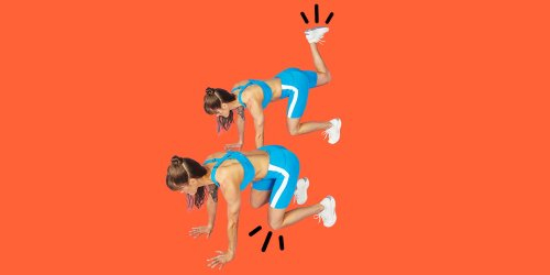 Bear Plank Kickback: This Combo Move Promises a Core and Glute Burn Like No Other