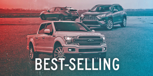 2020's 25 Best-Selling Cars, Trucks, and SUVs