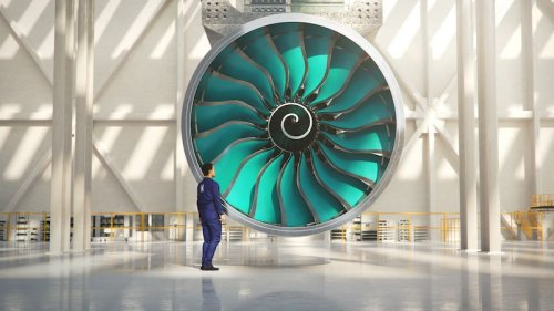 The World's Largest Aircraft Engine Is Underway