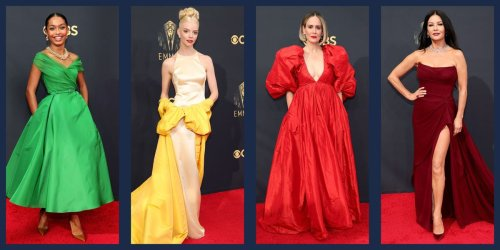 The Best Gowns and Dresses from the 2021 Emmy Awards Red Carpet