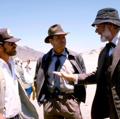 Behind-the-Scenes Photos from the Indiana Jones Movies