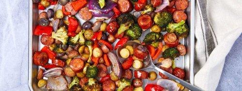 Sheet Pan Sausage & Vegetables