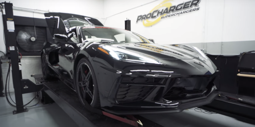 Here's What a 700-Plus-HP Supercharged C8 Mid-Engine Corvette Sounds Like