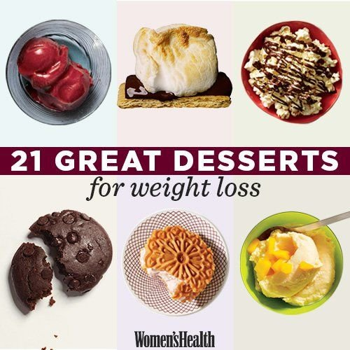 21 Great Desserts for Weight Loss