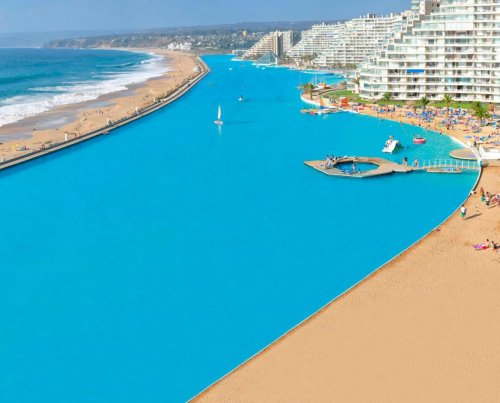 The World's Biggest Pool Will Blow Your Mind