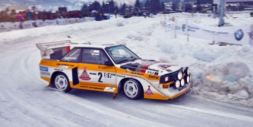 Ice Racing—While Towing Skiers!—In Austria