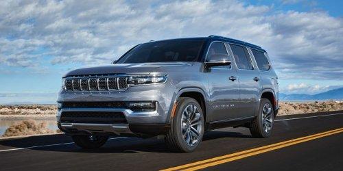 2022 Jeep Wagoneer, Grand Wagoneer Are Back as Massive Luxury SUVs
