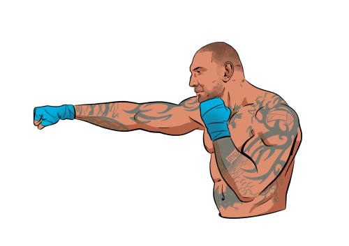 The 4-Move Chest Workout Dave Bautista Uses to Stay Swole
