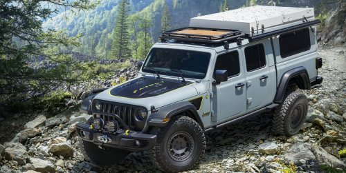 Jeep Farout Concept Makes Gladiator into an Overlander, Stove and All