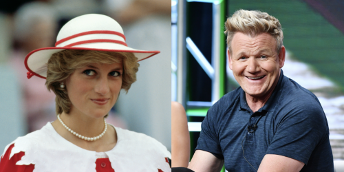 Gordon Ramsay Says the Best Meal He's Ever Cooked Was for Princess Diana