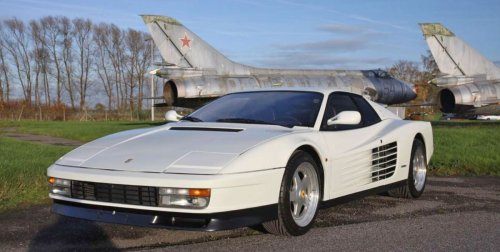 Ferrari Testarossa Sold New to Japan Heads to Auction