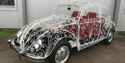 This Volkswagen Wedding Beetle Is the Coolest Beetle