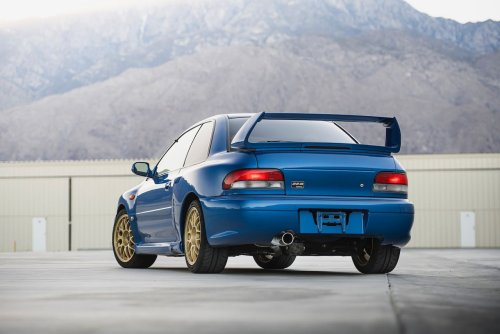 There's a Real, Actual Subaru Impreza 22B for Sale Right Now