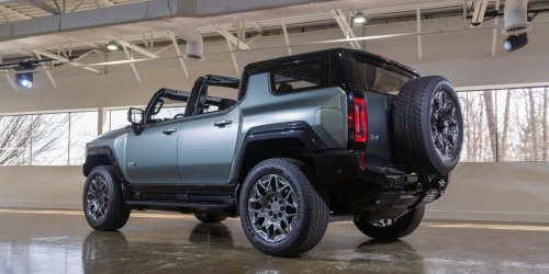 View Photos of the 2024 Hummer EV SUV