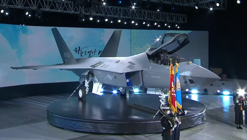 South Korea Just Unveiled Its New Fighter Jet. It Looks Awfully Familiar.