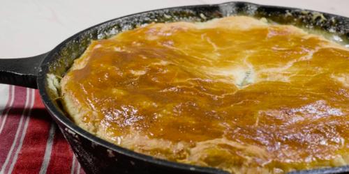 One-Pot Easy Chicken Pie