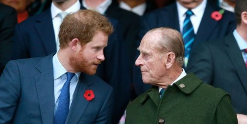 """Yikes, Apparently Prince Philip Has """"Walked Away"""" From Prince Harry"""