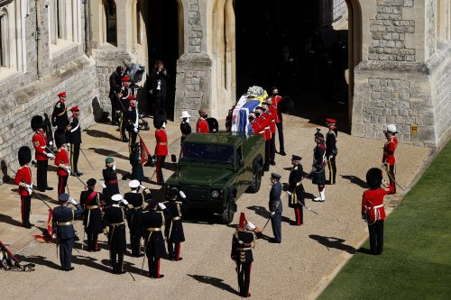 Prince Philip's Funeral: Prince William, Harry And Kate Middleton Attend Windsor Service