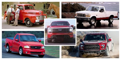 The History of Ford's F-Series Pickup Truck, from the Model TT to Today