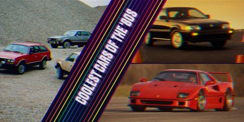 The coolest cars of the '80s