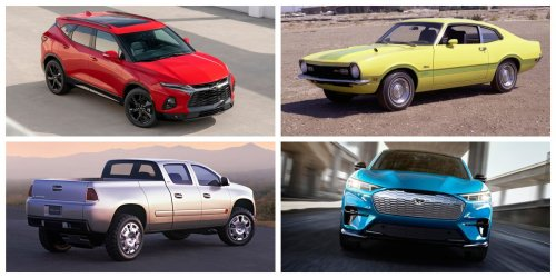 What If New Cars Had Old Names?