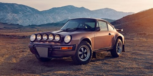 These Lifted Porsche 911s are Perfect for an Off-Road Adventure
