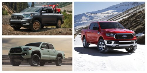 Every 2021 Mid-Size Pickup Truck Ranked