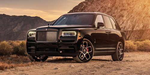 The Rolls-Royce Fit for a Day at the Volcano