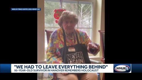 95-year-old Holocaust survivor in Hanover remembers tragedies