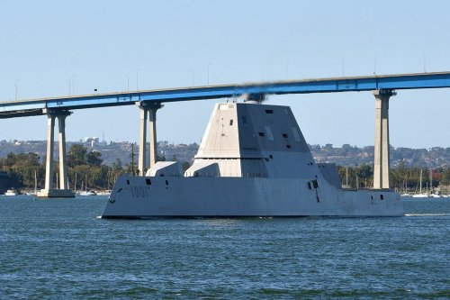 This Destroyer Is About to Control Unmanned Ships and Aircraft