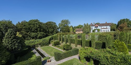 A striking East Sussex home once visited by Henry VIII