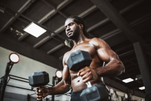 This 30-Minute Diabolical Dumbbell Demolition Workout Will Shred Fat