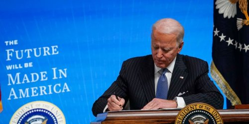 Biden Wants to Replace U.S. Fleet Vehicles with American-Made EVs