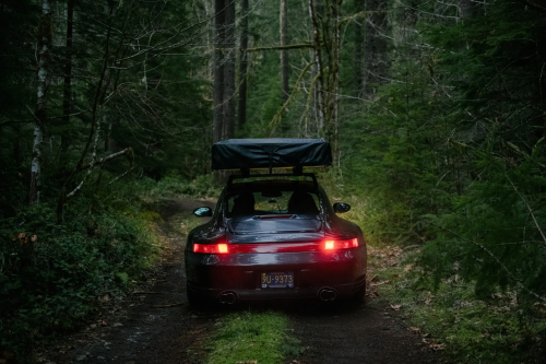 The ultimate camping rig is... this Porsche 911?