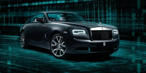 Rolls-Royce Wraith Kryptos Collection Version Has a Puzzle Hidden Inside