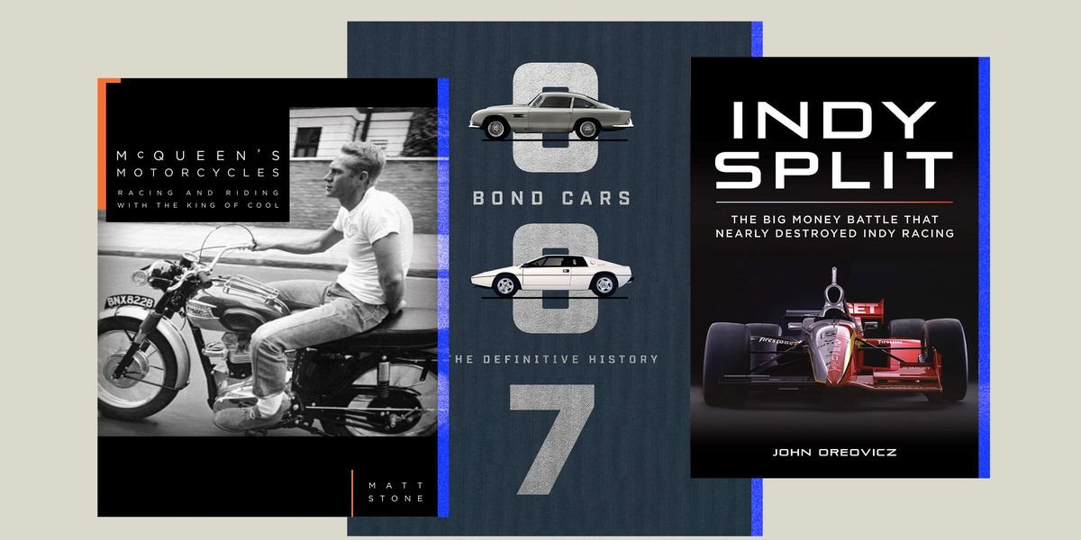 Father's Day Isn't That Far Away. Grab Your Dad One of These Cool Car Books Now