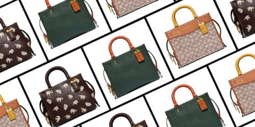 Coach Relaunches its Iconic Rogue Bag