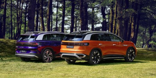 VW ID.6, ID.6 Crozz Seven-Seater EV Unveiled, Loaded Up to Compete in China