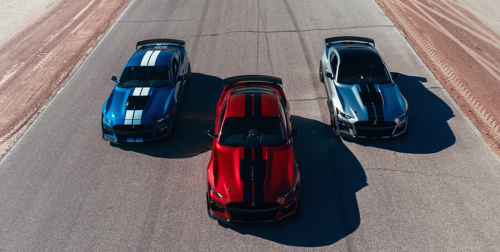 2020 Ford Mustang Shelby GT500 VIN 001 to be Auctioned for Charity