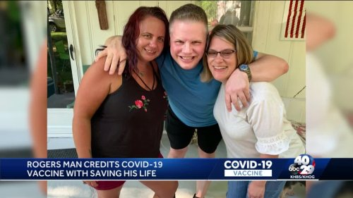 Rogers man gets COVID-19 despite being fully vaccinated; credits vaccine with saving his life