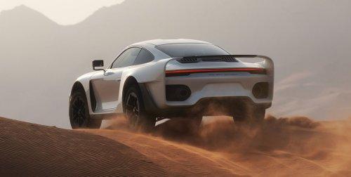 Gemballa Marsien: El Porsche 959 Paris-Dakar del Siglo XXI