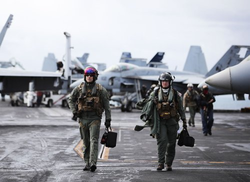 Everything an F/A-18 Fighter Pilot Wears in the Cockpit