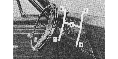 America's last three-on-the-tree column-shift manual, and more car trivia