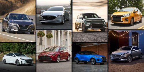 The cheapest new cars you can buy right now