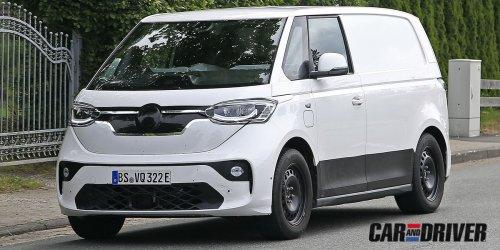 Volkswagen ID. Buzz: La esperada Transporter eléctrica ya rueda camuflada