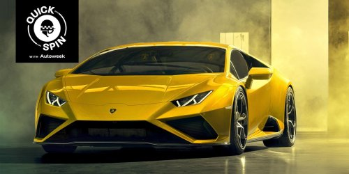 The Lamborghini Huracán Evo Is Rockstar Ready