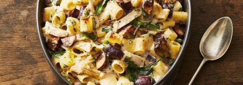 Creamy Turkey Pasta Casserole